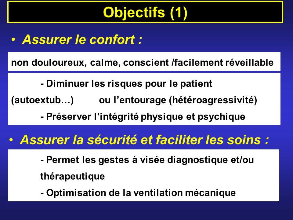 Objectifs (1) Assurer le confort :