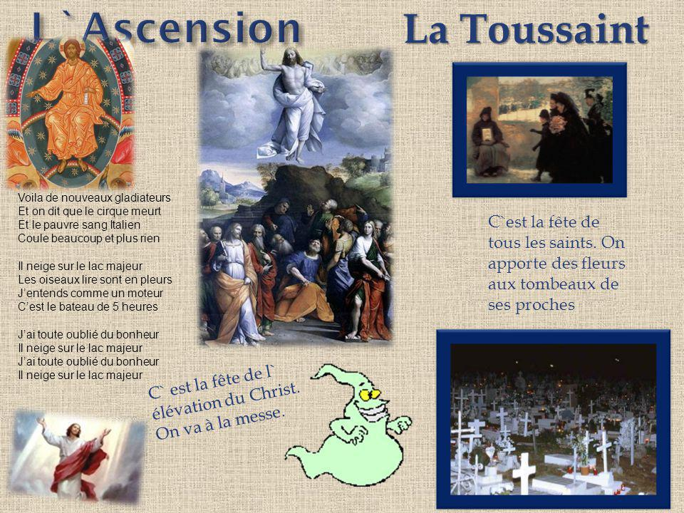 L`Ascension La Toussaint
