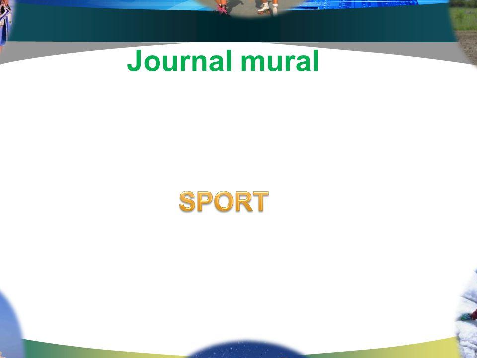 Journal mural SPORT