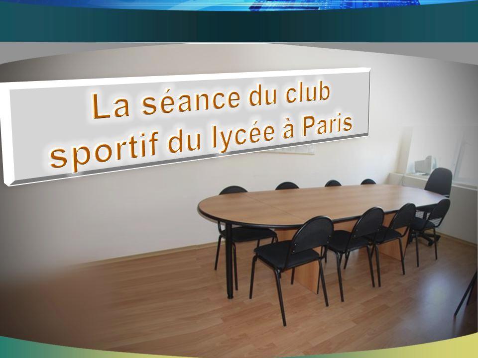 sportif du lycée à Paris