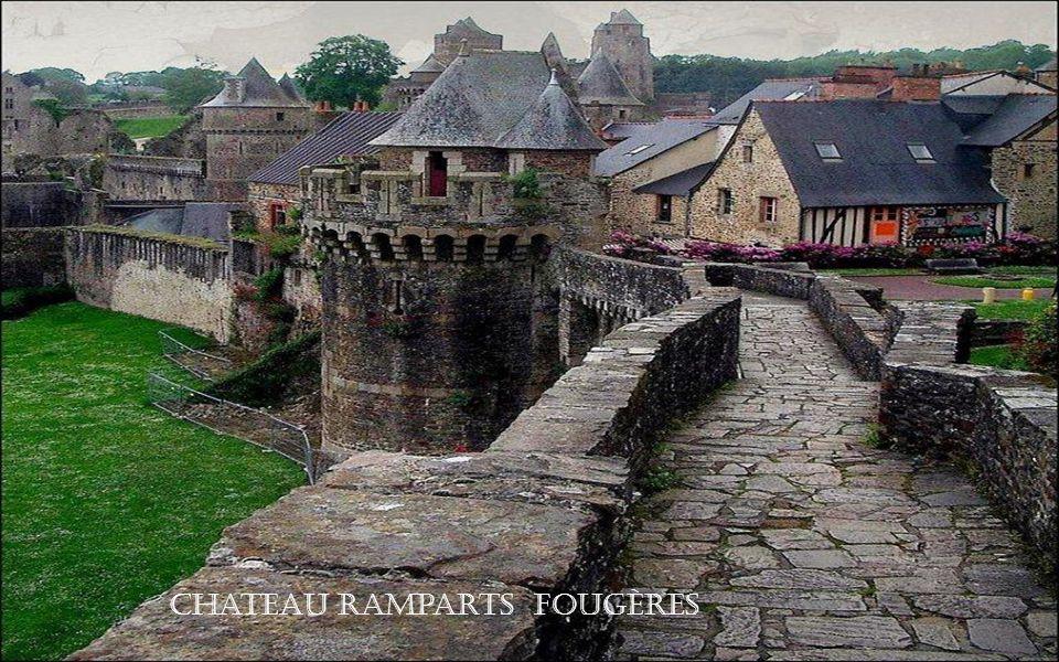 Chateau Ramparts Fougères