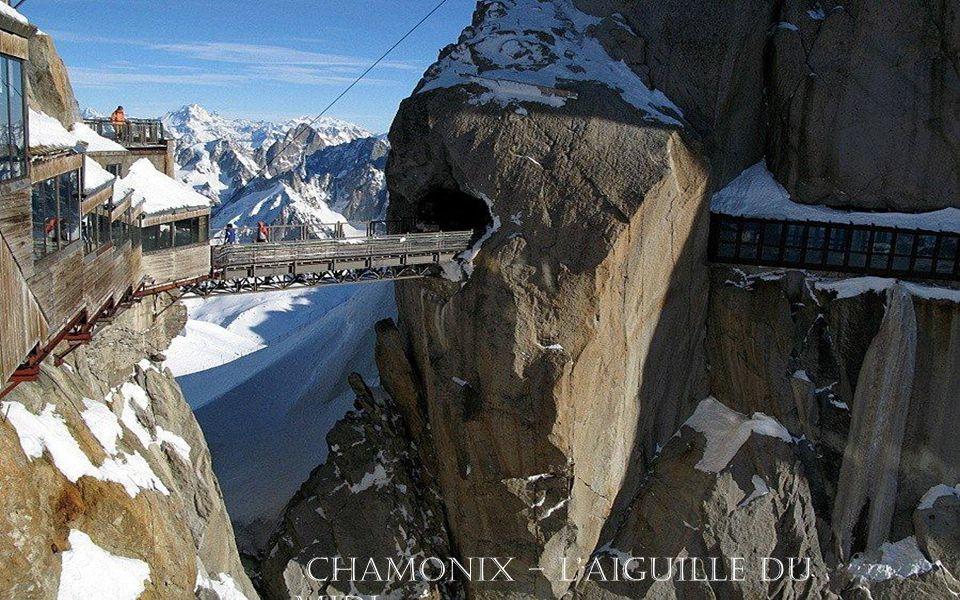 Chamonix – l'aiguille du midi