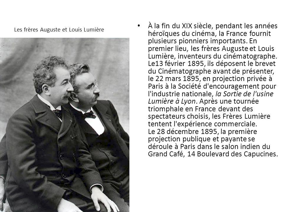 Les frères Auguste et Louis Lumière