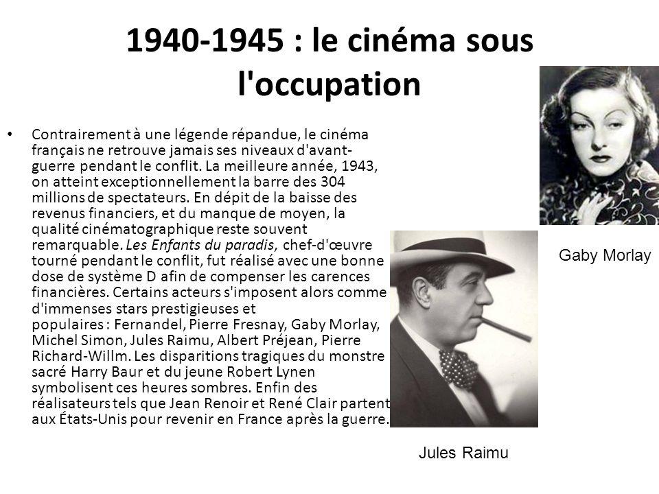1940-1945 : le cinéma sous l occupation