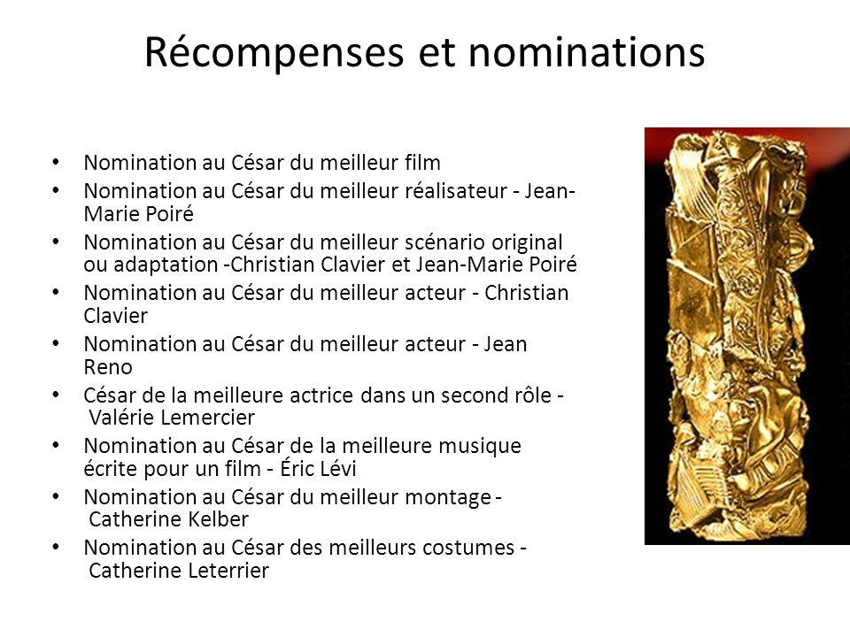 Récompenses et nominations