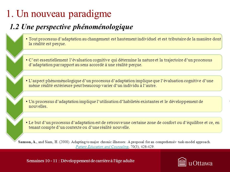 1. Un nouveau paradigme 1.2 Une perspective phénoménologique