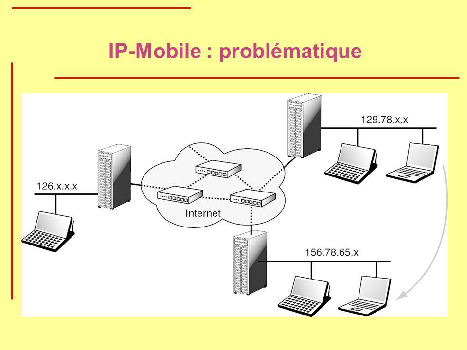 IP-Mobile : problématique