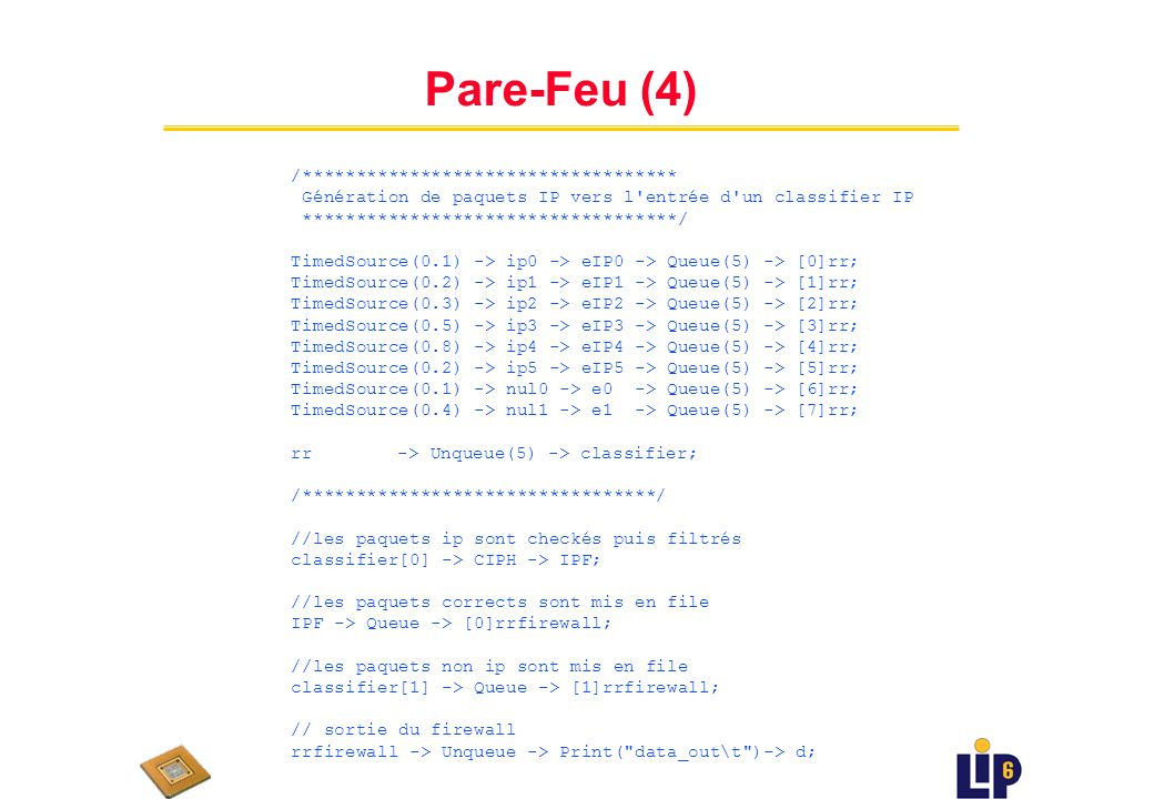 Pare-Feu (4) /***********************************