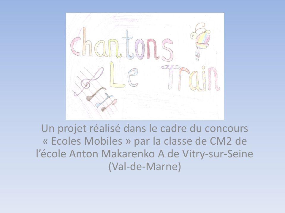 Un projet réalisé dans le cadre du concours « Ecoles Mobiles » par la classe de CM2 de l'école Anton Makarenko A de Vitry-sur-Seine (Val-de-Marne)