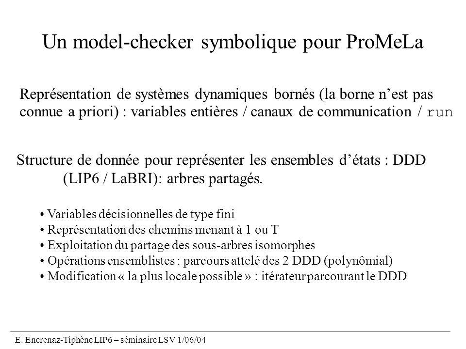 Un model-checker symbolique pour ProMeLa