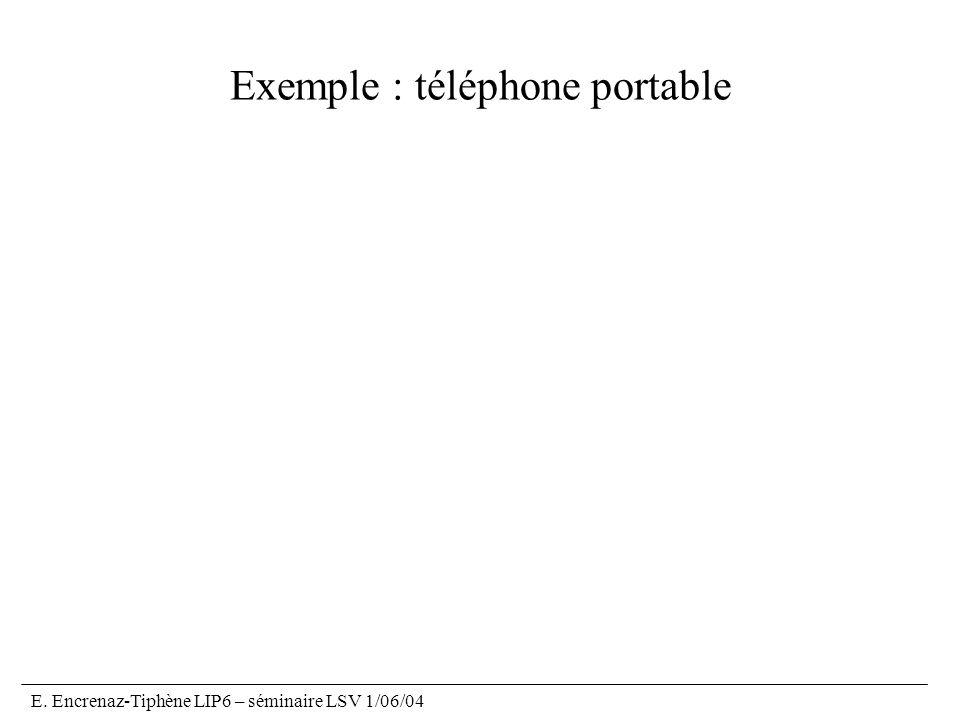 Exemple : téléphone portable