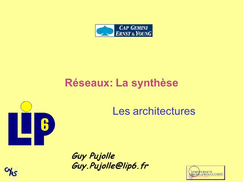 Réseaux: La synthèse Les architectures Guy Pujolle Guy.Pujolle@lip6.fr