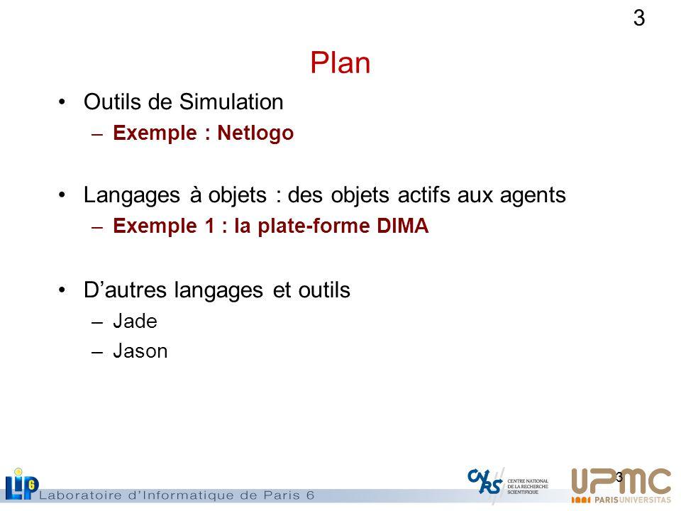 Plan Outils de Simulation