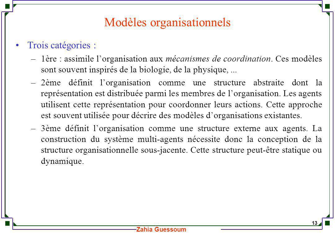 Modèles organisationnels