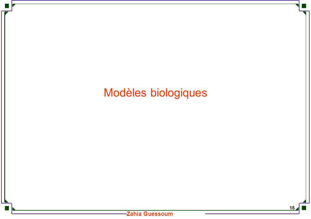 Modèles biologiques