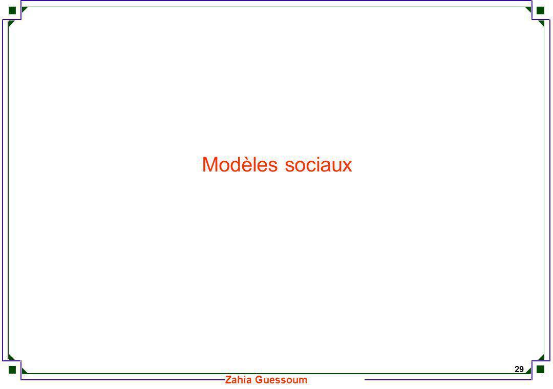 Modèles sociaux