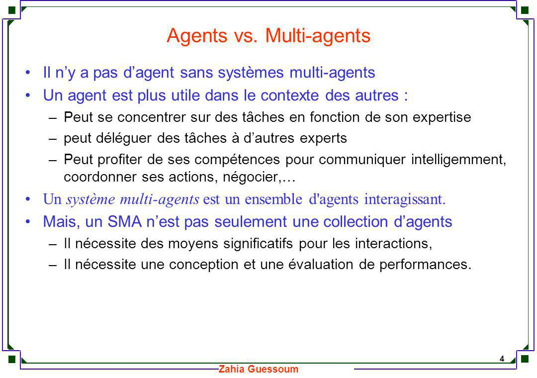 Agents vs. Multi-agents