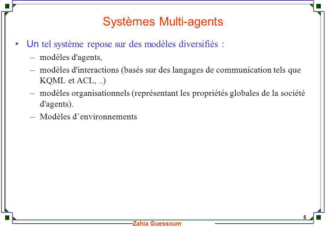 Systèmes Multi-agents