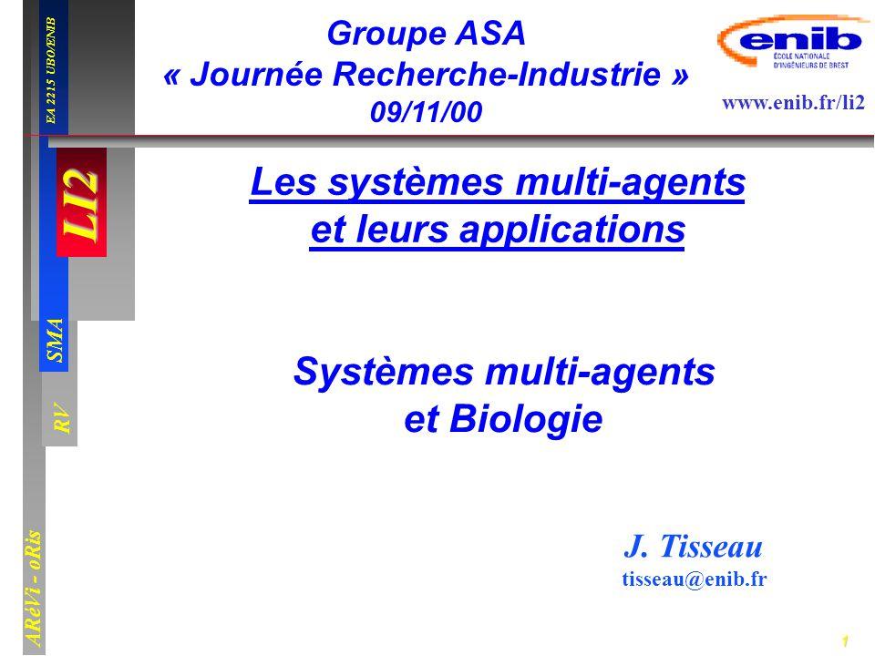 Les systèmes multi-agents et leurs applications