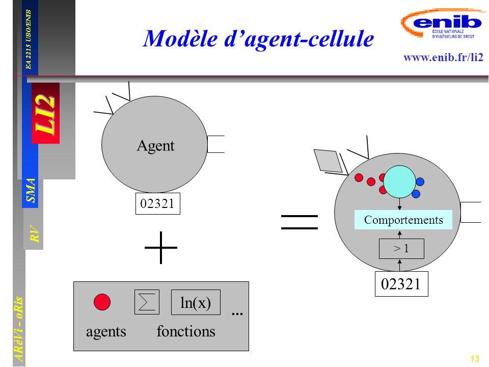 Modèle d'agent-cellule