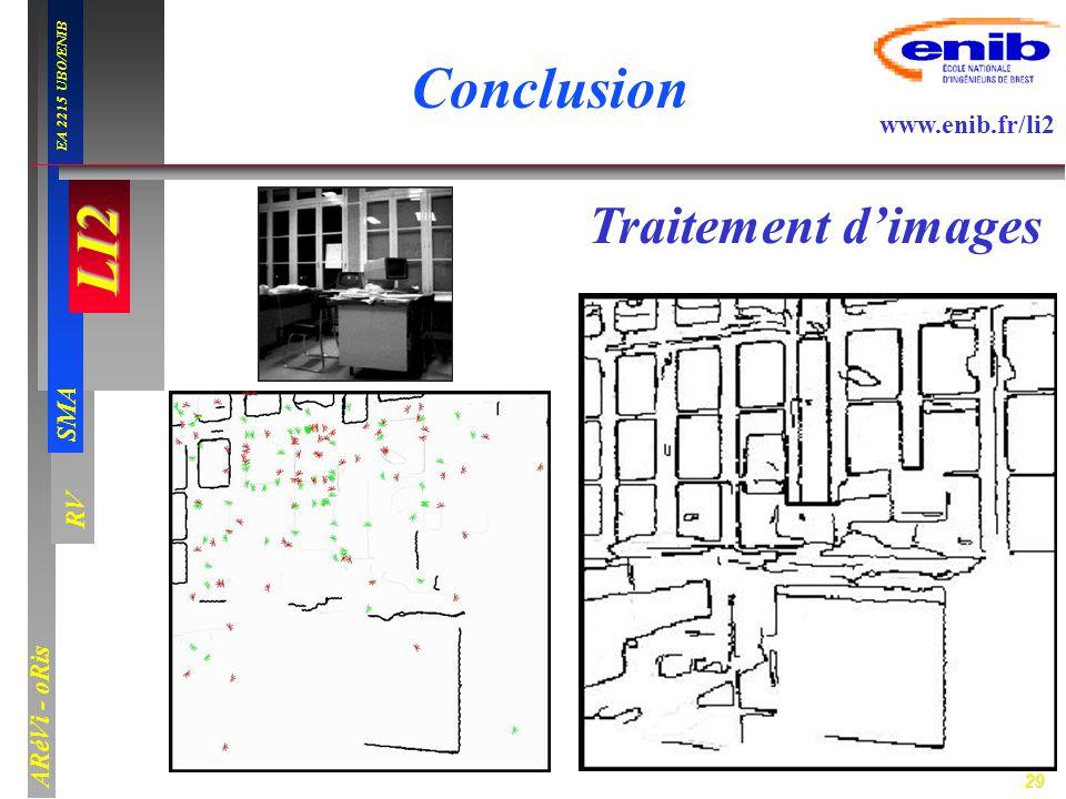 Conclusion Traitement d'images