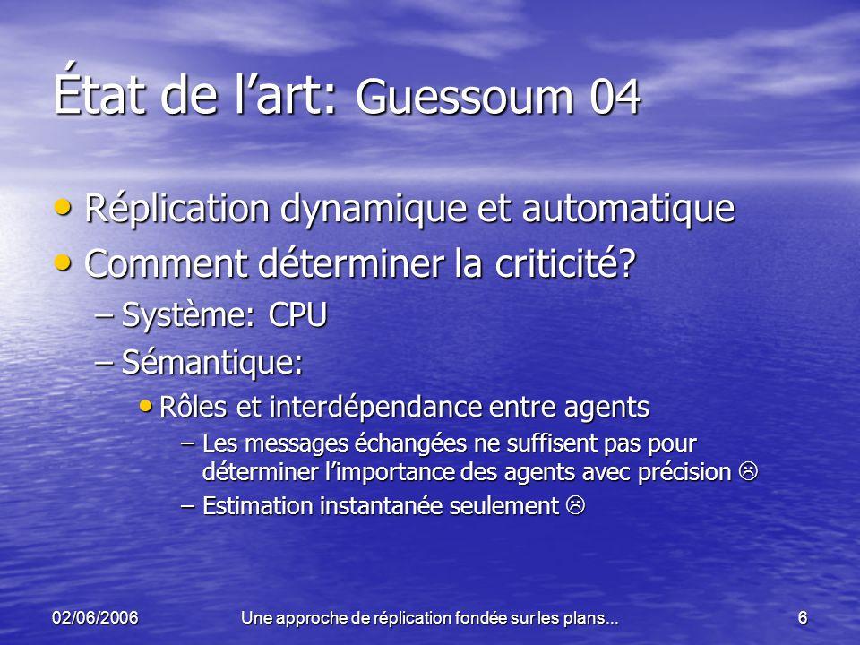 État de l'art: Guessoum 04