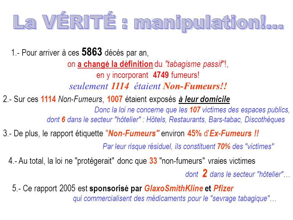 La VÉRITÉ : manipulation!…