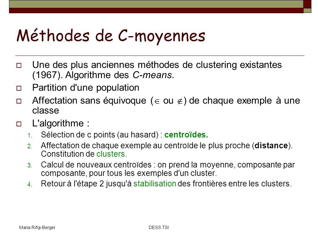 Méthodes de C-moyennes