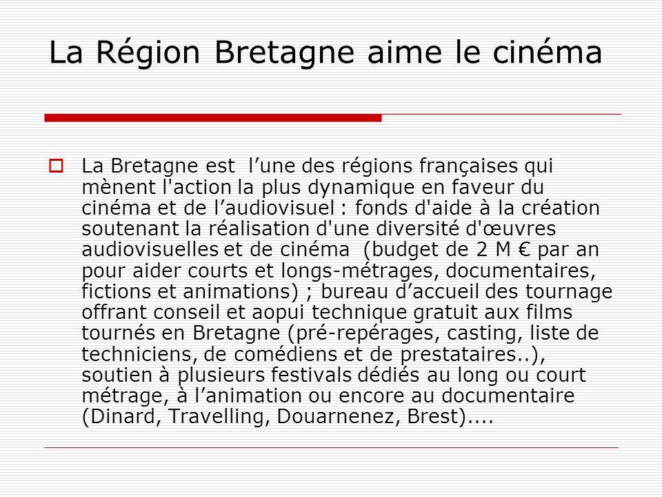 La Région Bretagne aime le cinéma