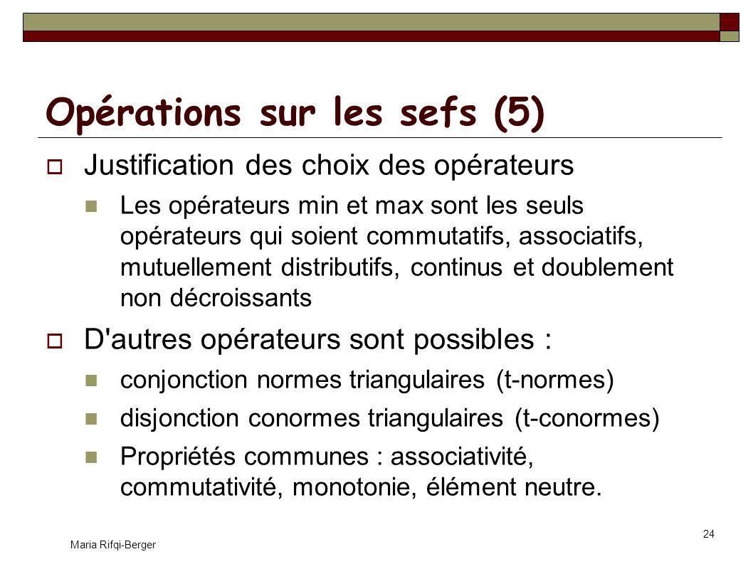 Opérations sur les sefs (5)