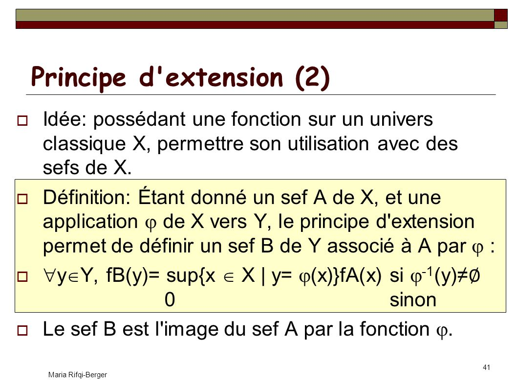 Principe d extension (2)
