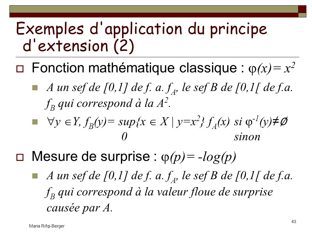 Exemples d application du principe d extension (2)
