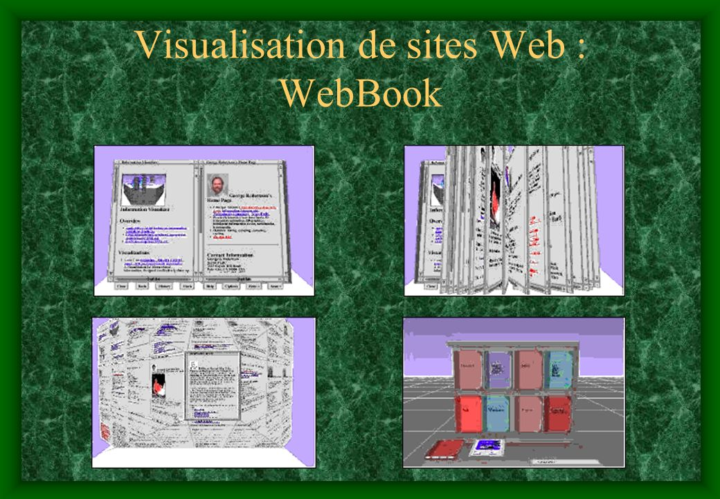 Visualisation de sites Web : WebBook