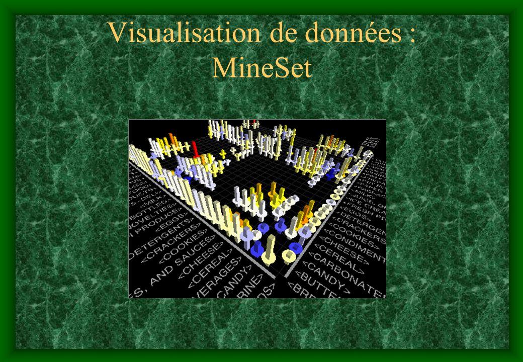 Visualisation de données : MineSet