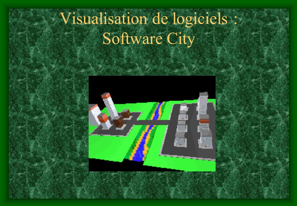 Visualisation de logiciels : Software City