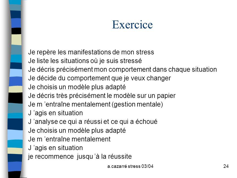 Bibliographie Exercice