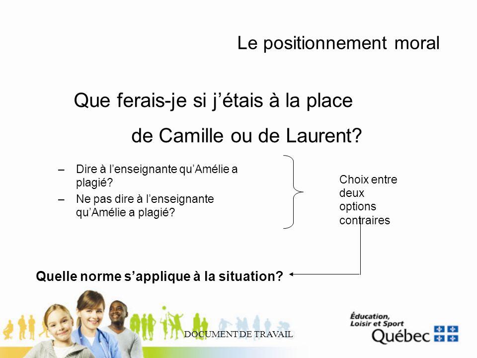 de Camille ou de Laurent