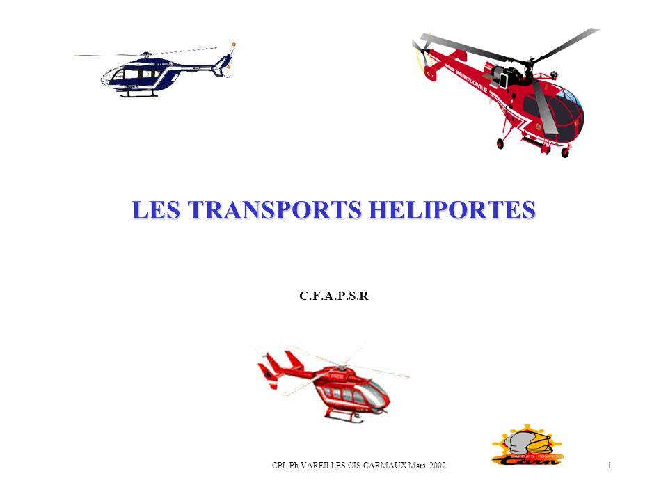 LES TRANSPORTS HELIPORTES