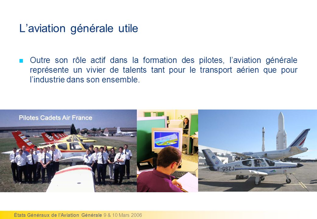L'aviation générale utile