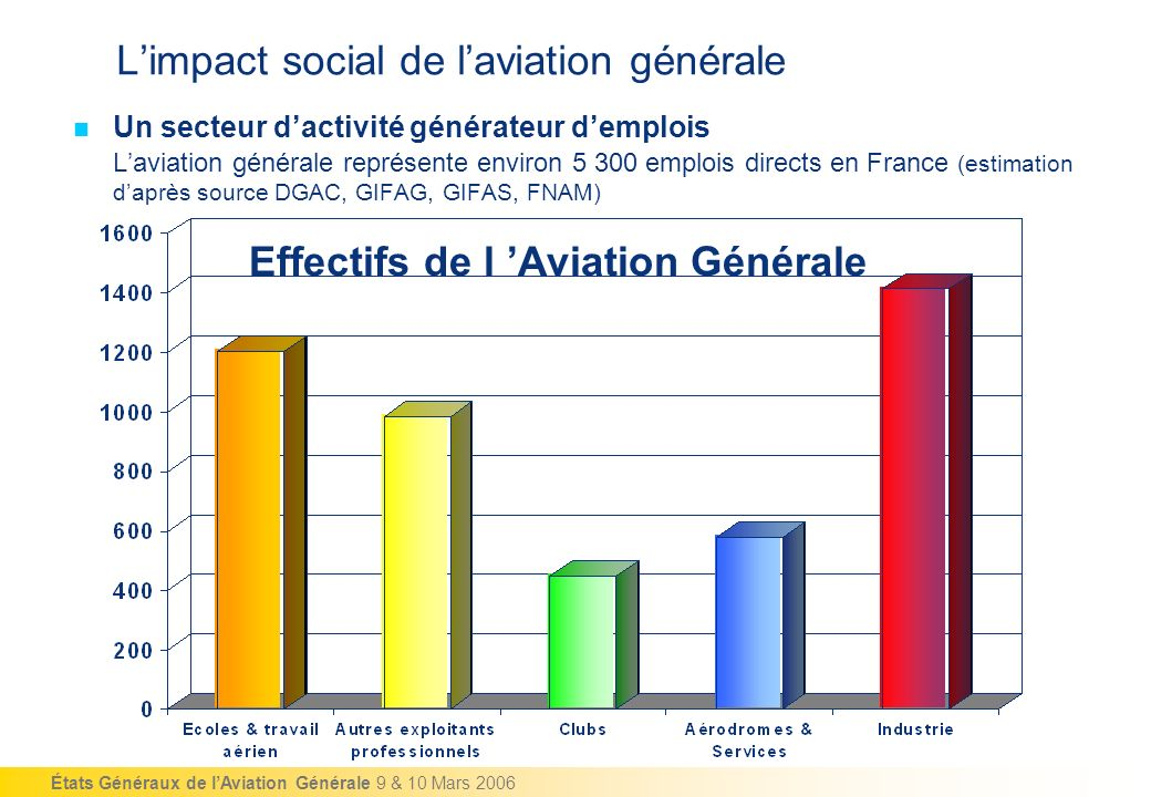 L'impact social de l'aviation générale