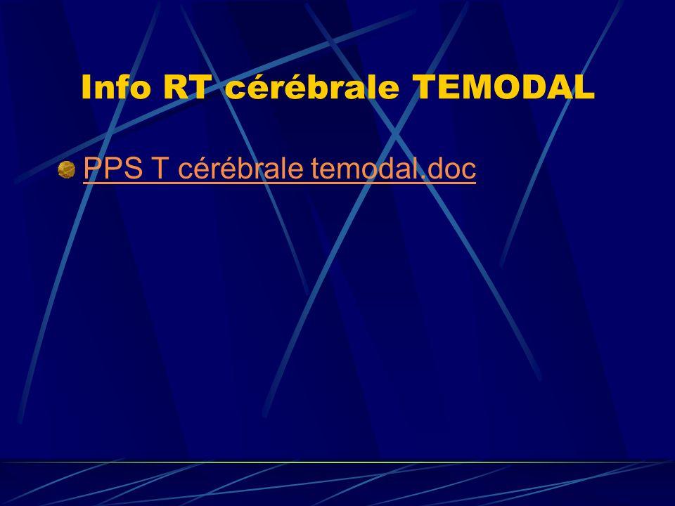 Info RT cérébrale TEMODAL