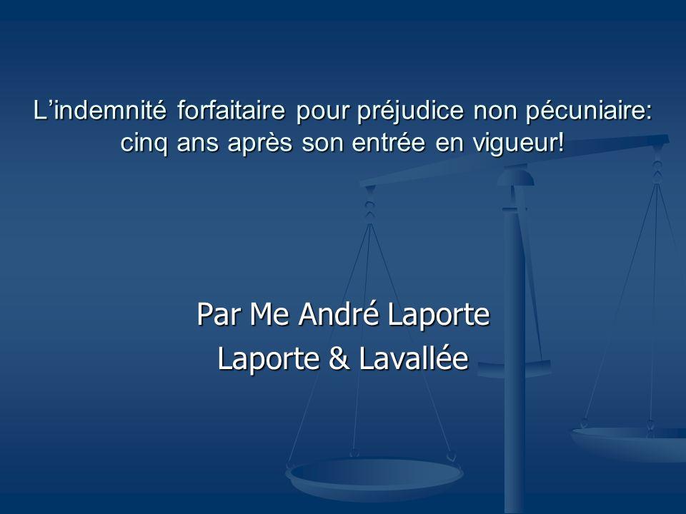 Par Me André Laporte Laporte & Lavallée