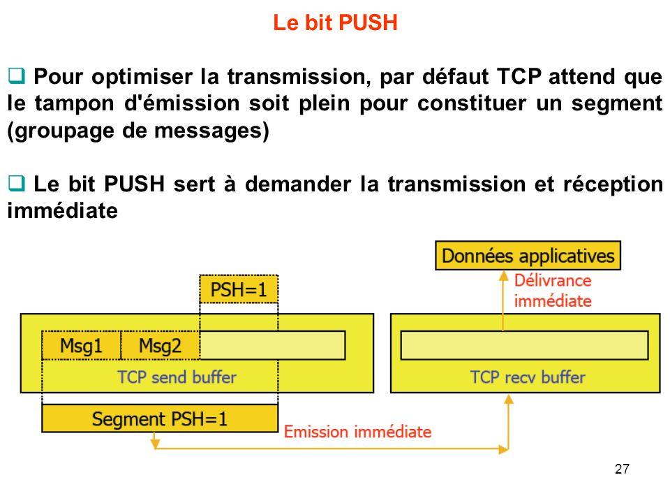 Le bit PUSH