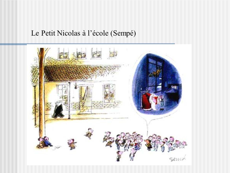 Le Petit Nicolas à l'école (Sempé)