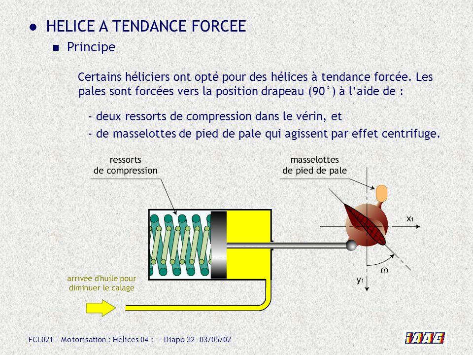 HELICE A TENDANCE FORCEE
