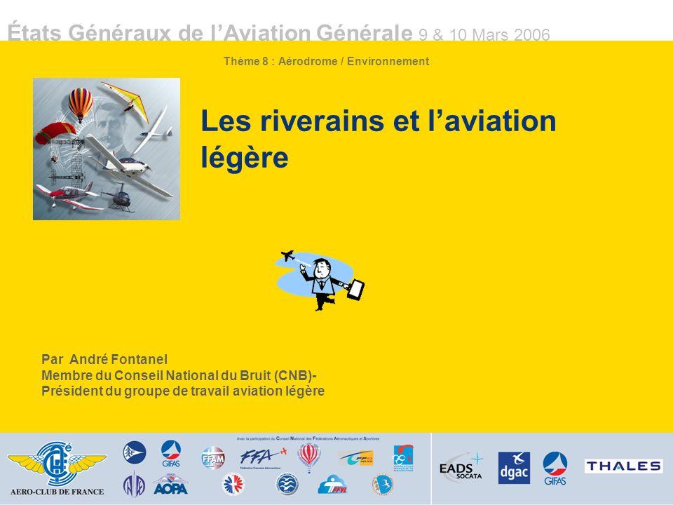 Les riverains et l'aviation légère