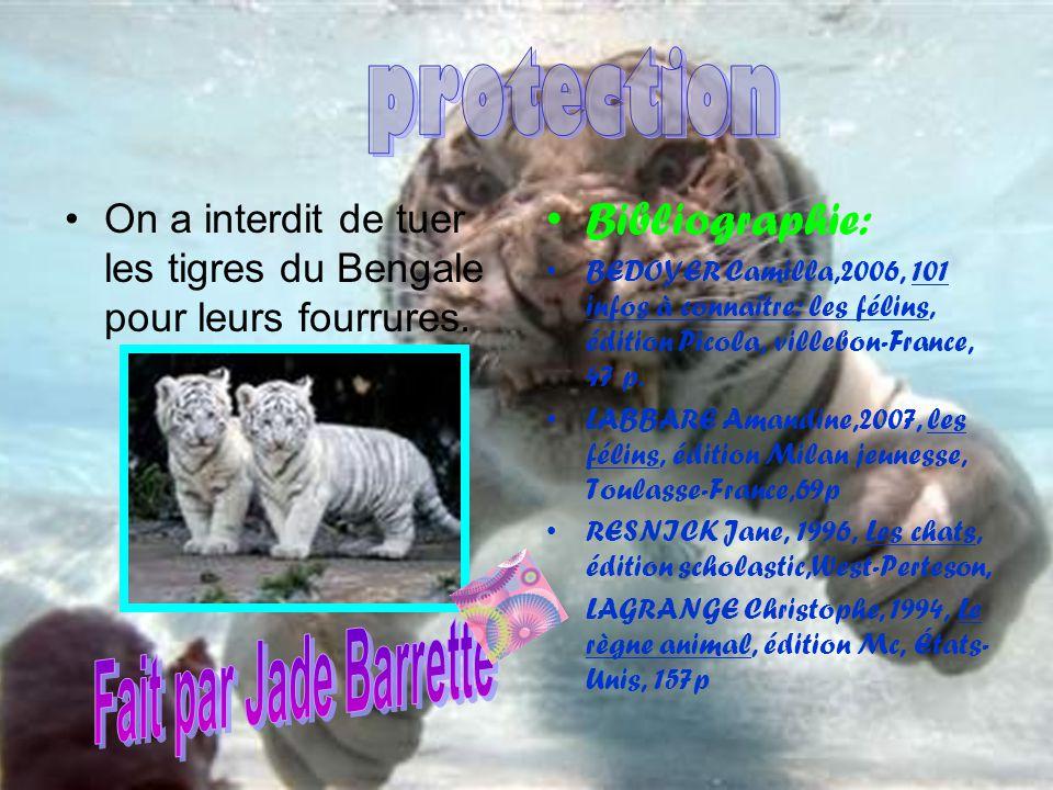 protection Fait par Jade Barrette Bibliographie: