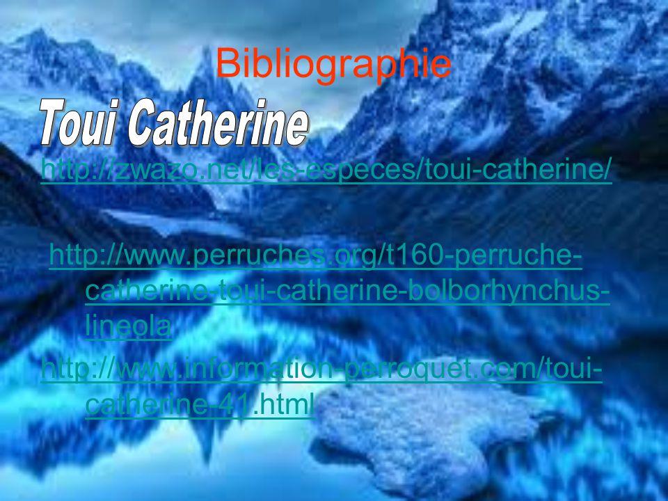 Bibliographie Toui Catherine