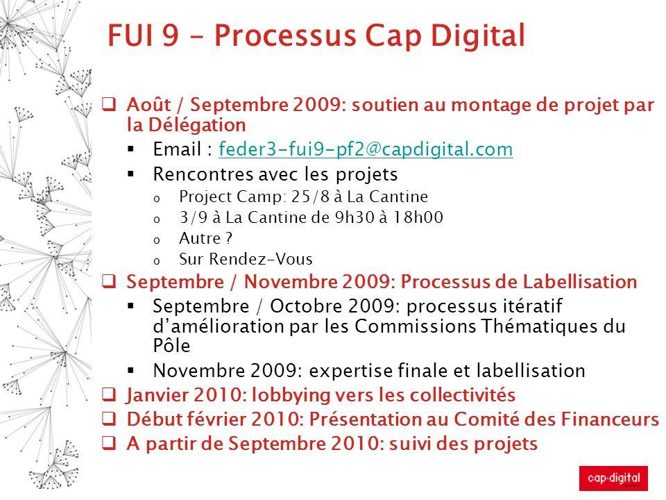 FUI 9 – Processus Cap Digital
