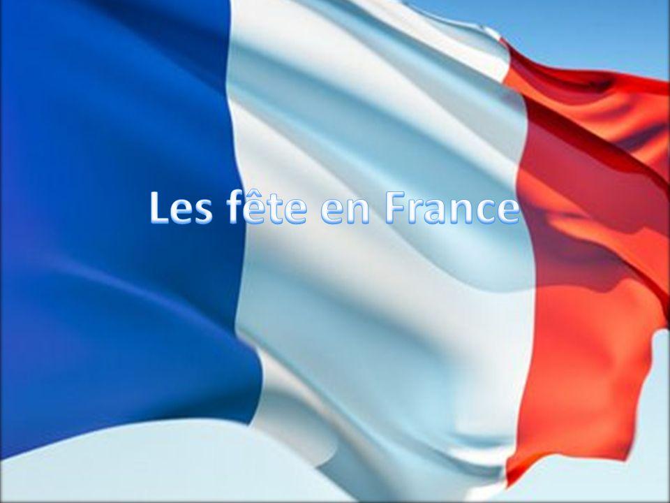Les fête en France